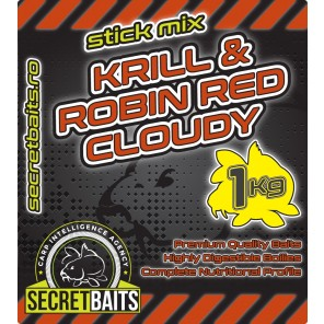 Secret Baits Krill & Robin Red Cloudy Stick Mix